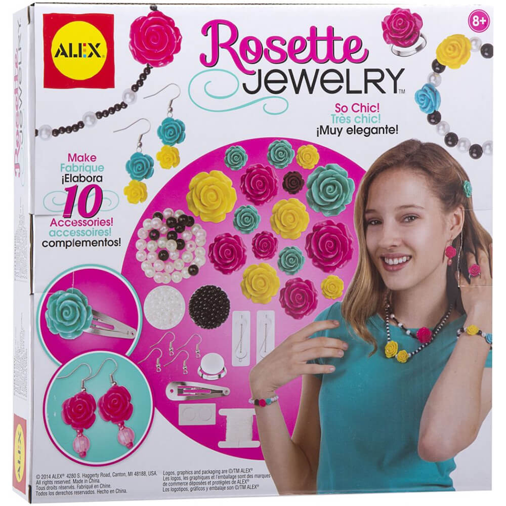 Alex Rosette Jewelry Set