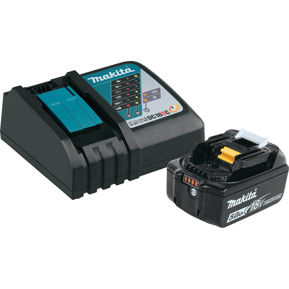 18V LXT Lithium‑Ion 5.0Ah Battery & Charger