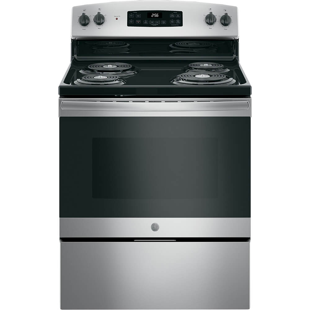 5.0 Cu. Ft. Stainless Freestanding Electric Range