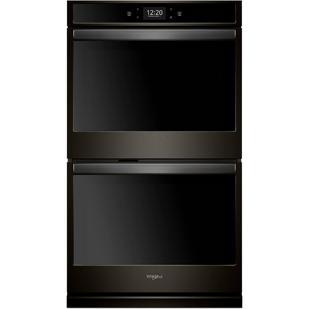 30 inch Black Stainless Convection Double Electric Wall Oven