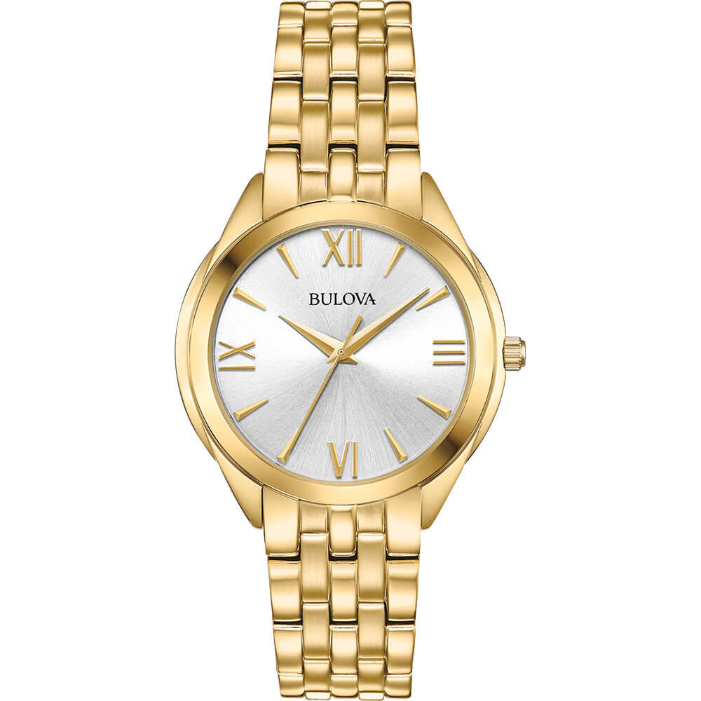 Womens Gold Classic Watch