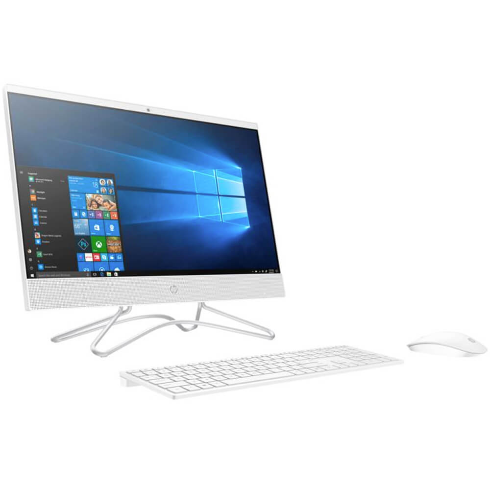 21.5 inch Celeron, 4GB, 1 TB HDD, Windows 10 All-in-One Computer - White