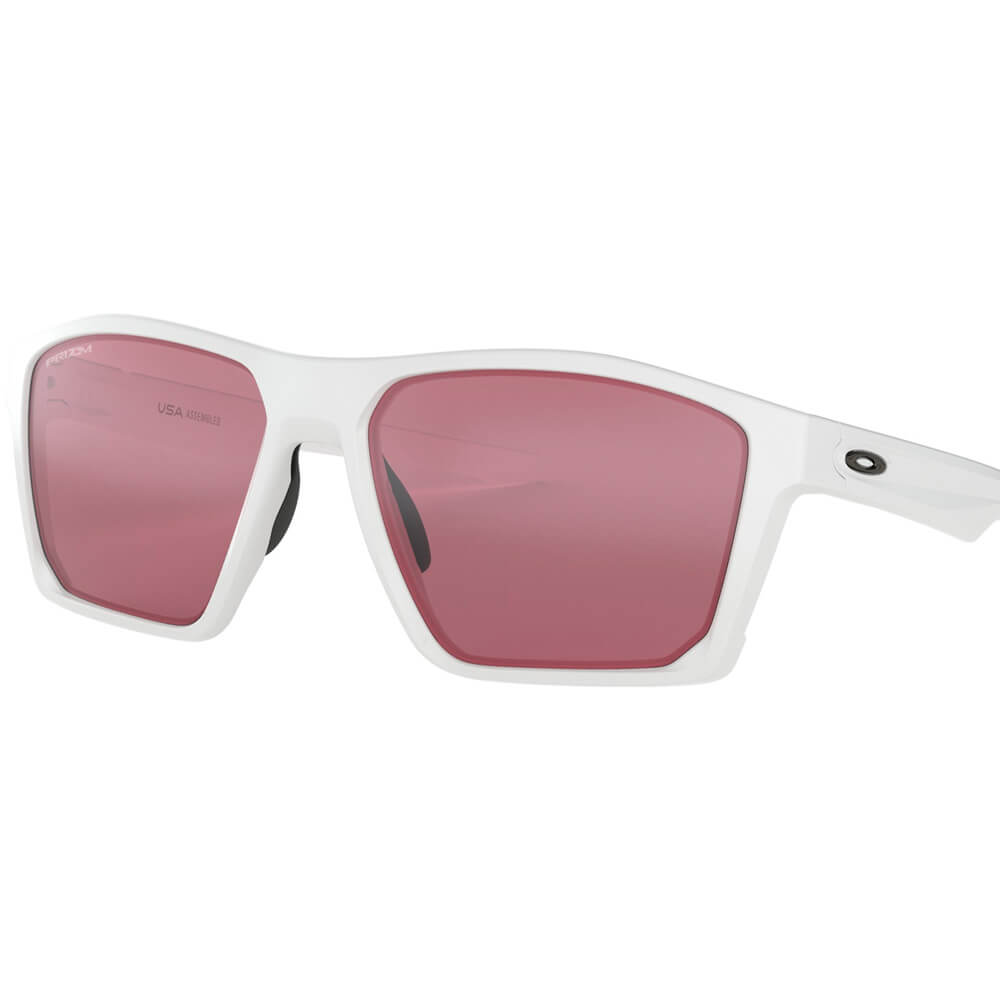 TargetLine Sunglasses - Polished White Prizm Dark Golf