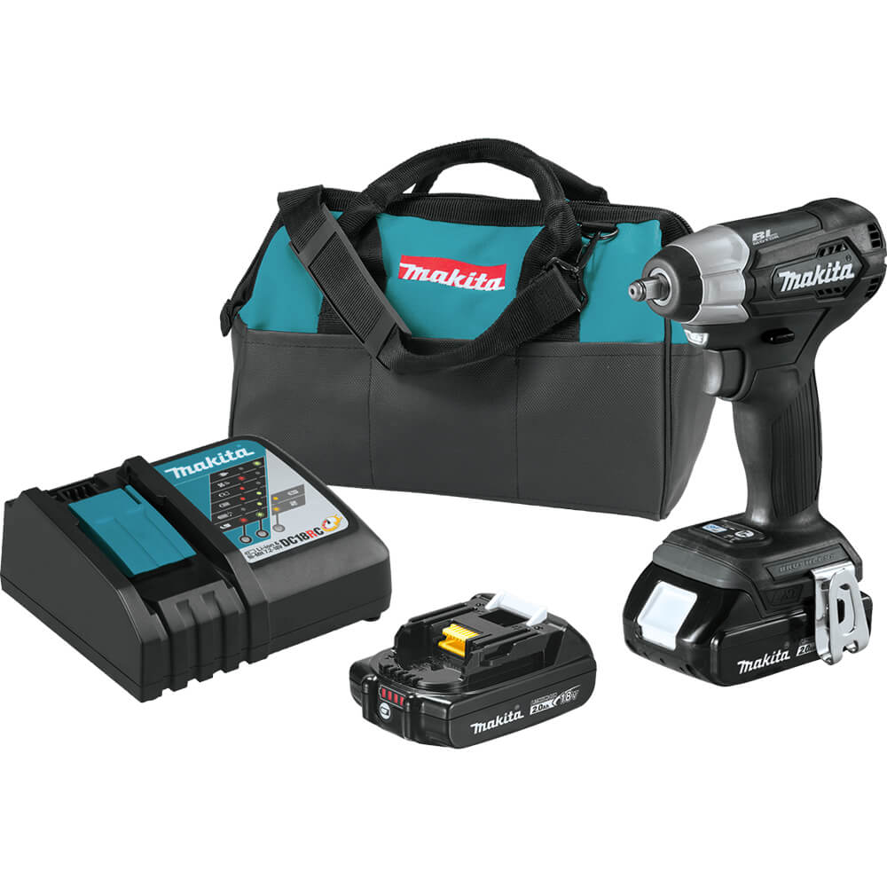 18v Sub-Compact Cordless 3/8 inch Sq. Drive Impact Wrench Kit