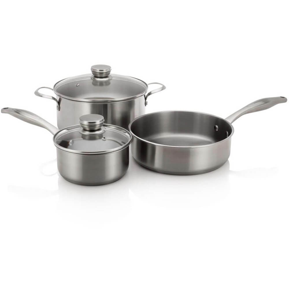 5 Piece Stainless Cookware Set