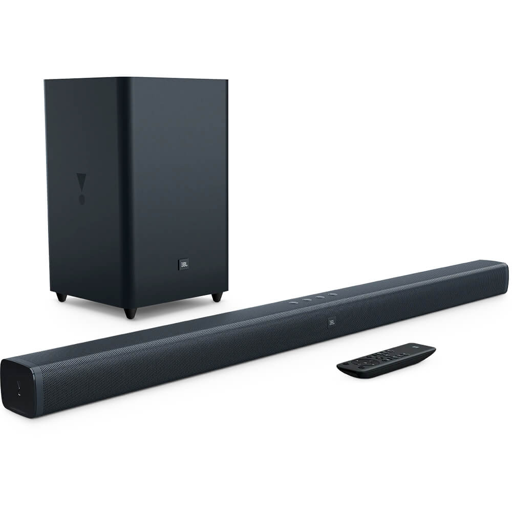 2.1-Channel Soundbar with Wireless Subwoofer