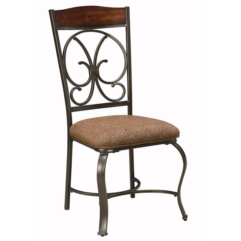 Dining Side Chair with Fabric Upholstery