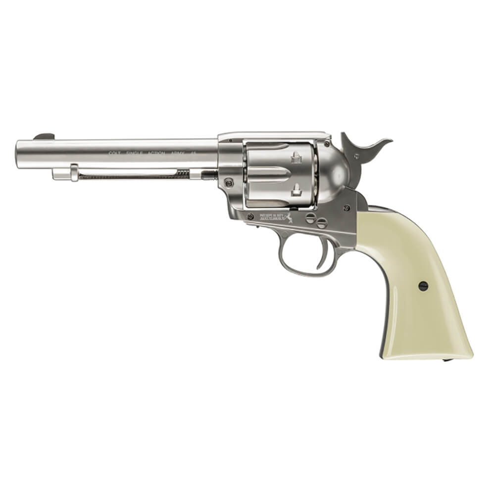 Colt Single Action Army 45 .177 Air Gun - Nickel