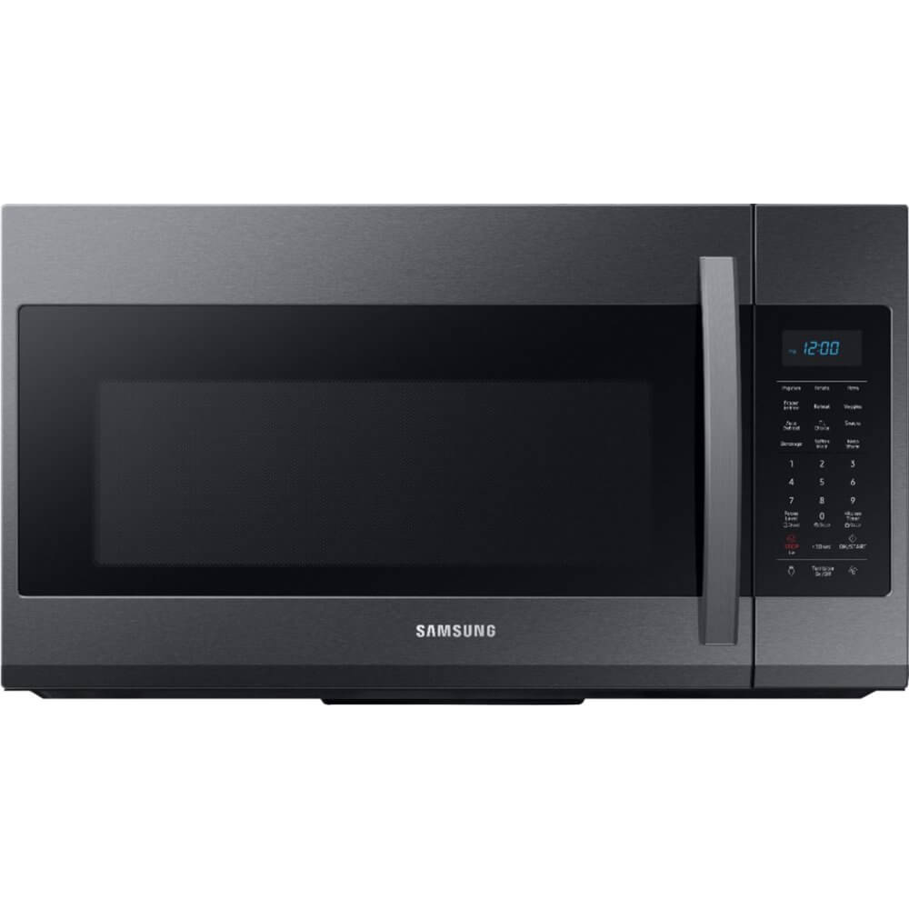 1.9 Cu.Ft. Black Stainless Over the Range Microwave