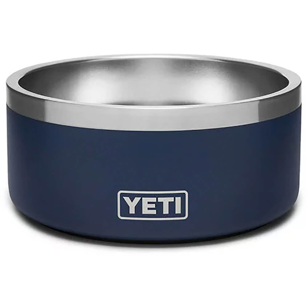 Boomer 4 Dog Bowl - Navy