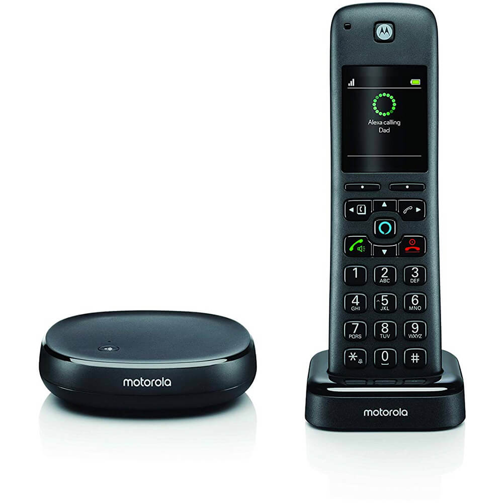 Wireless Home Telephone with Alexa