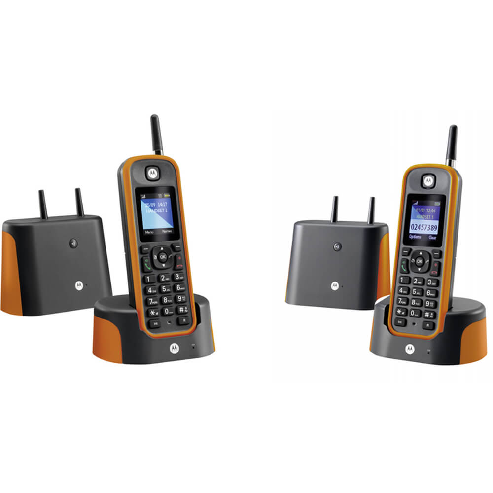 Cordless Analogue Answerphone - 2 Handsets