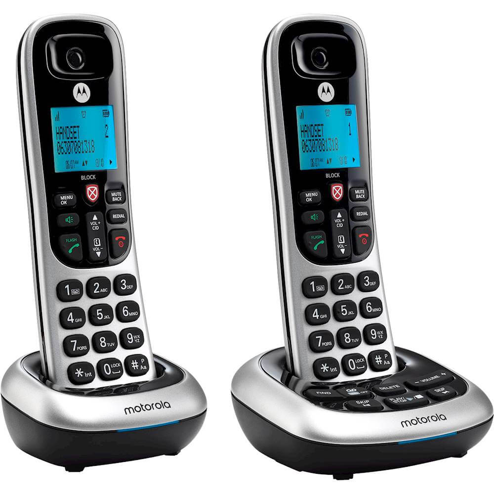Cordless Telephone - 2 Handsets