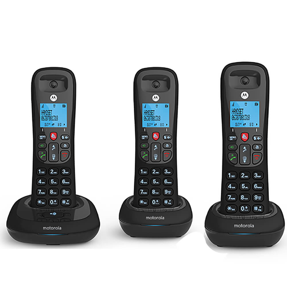 Cordless Telephone - 3 Handsets