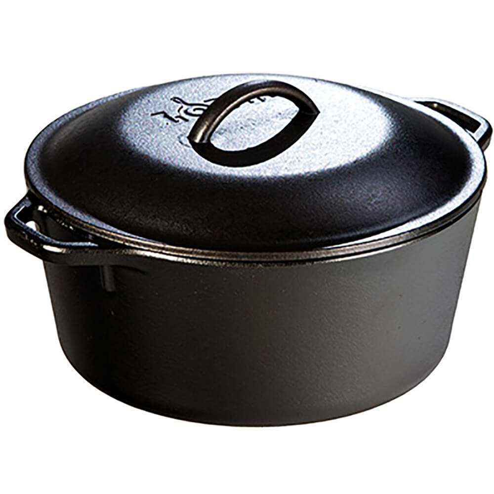5 Quart Cast Iron Dutch Oven