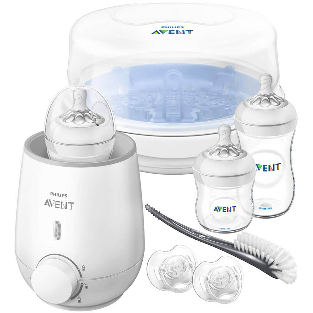 Avent Natural All-in-One Gift Set