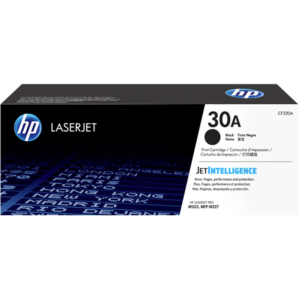 30A Black Original LaserJet Toner Cartridge,