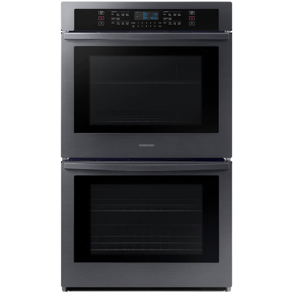30 inch Black Stainless Double Wall Oven
