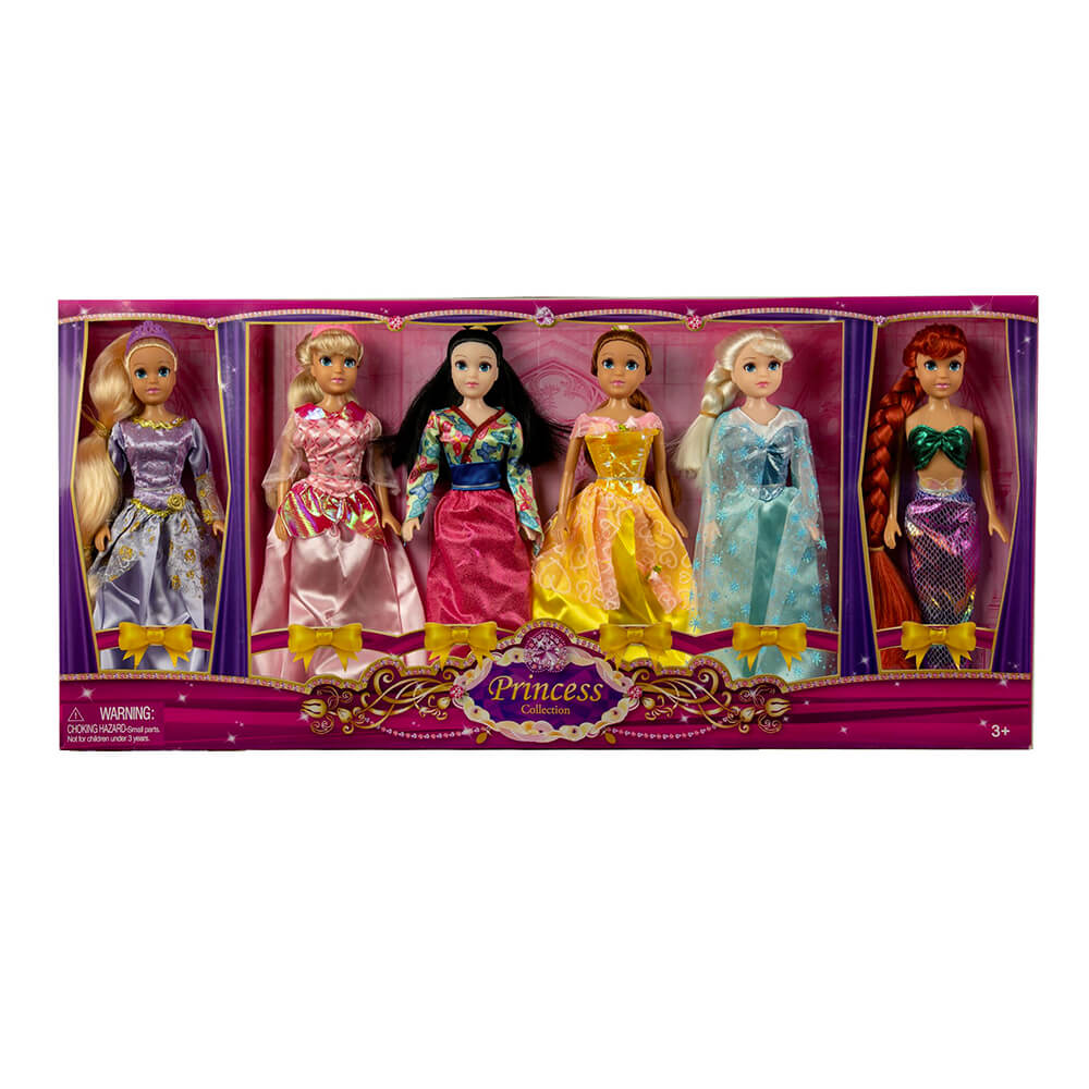 11.5 inch 6 Pc. Princess Collection