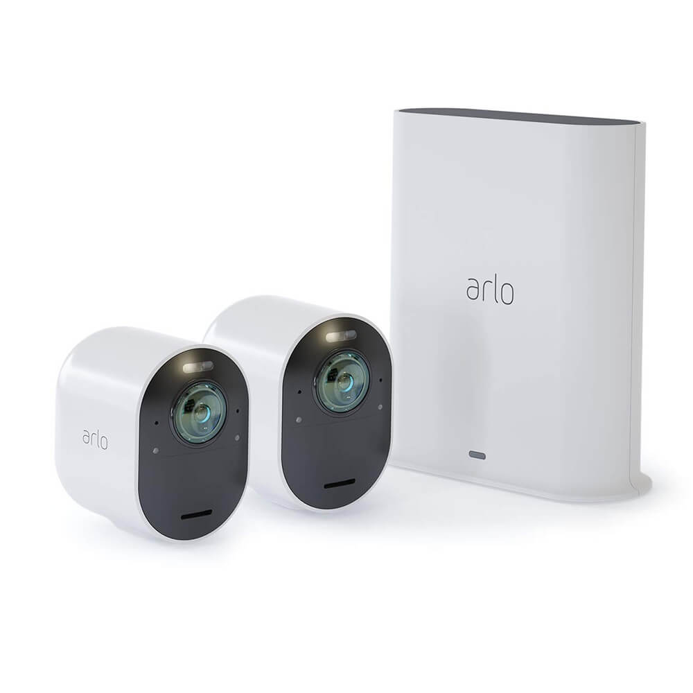 Ultra 4K UHD Wireless Security 2-Camera System