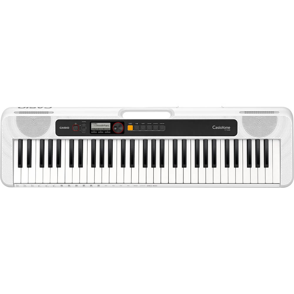 tone 61-Key Digital Piano - White
