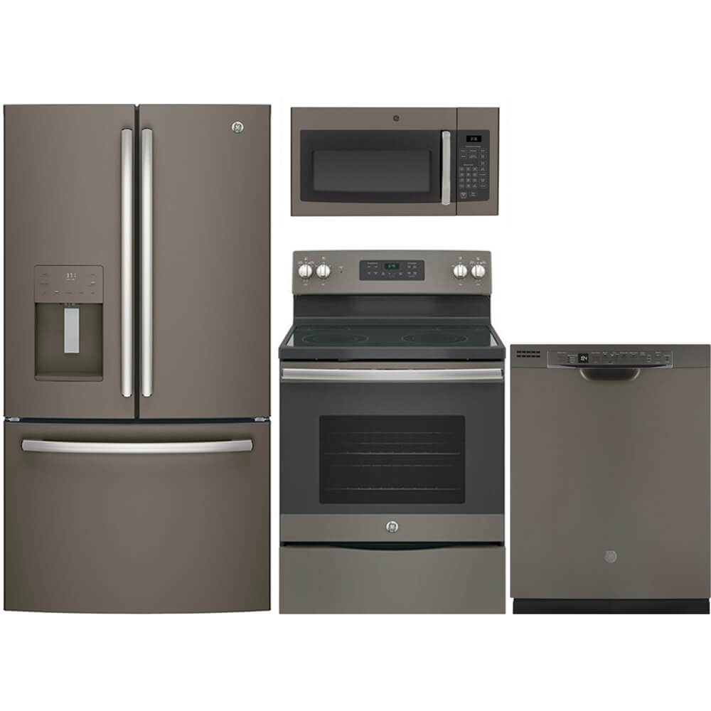 4 pc. Slate French Door Kitchen Package