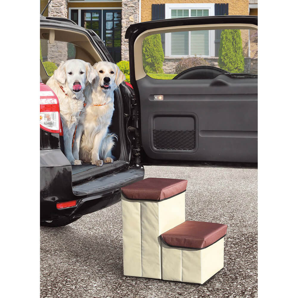 Storage Car Pet Steps