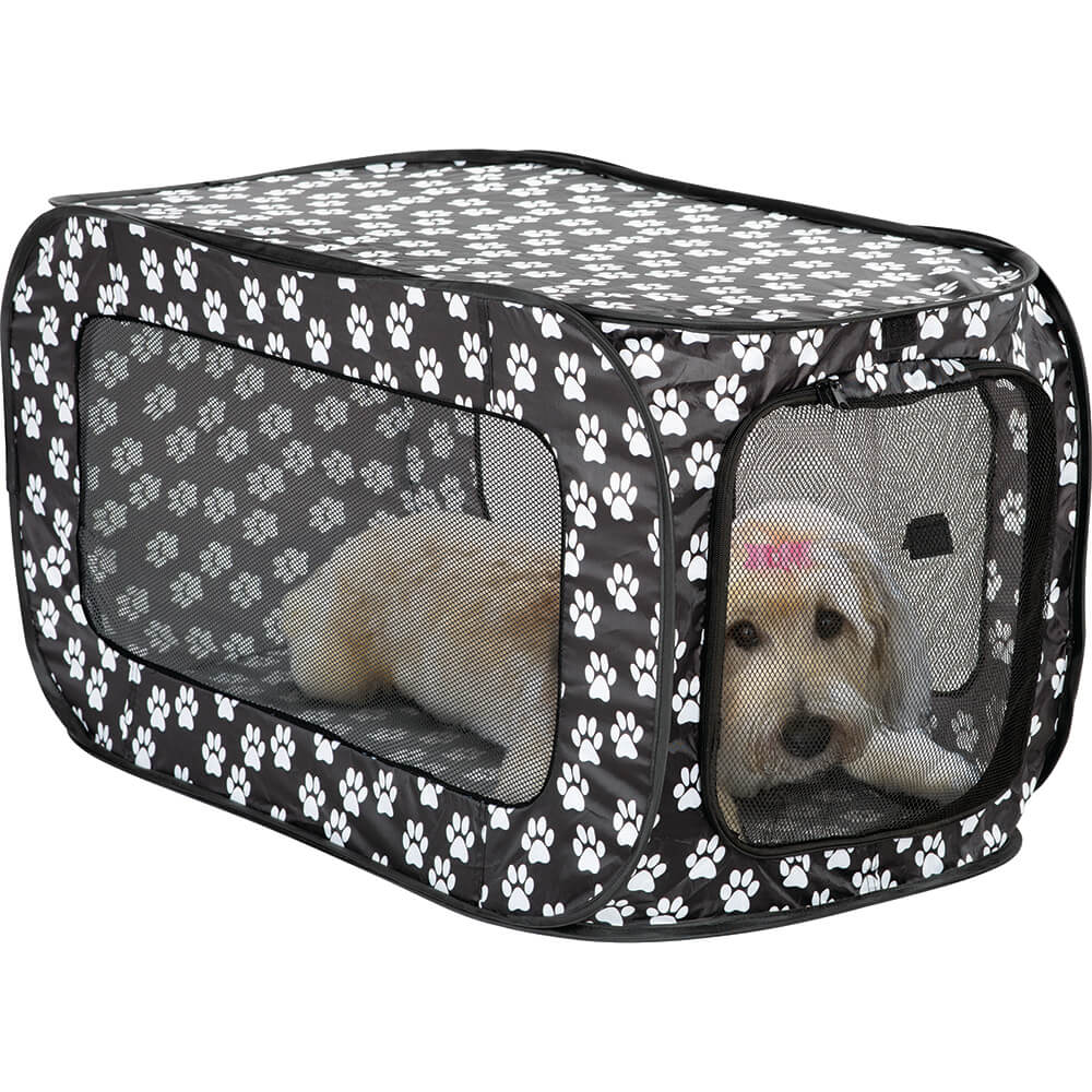 Pop Up Kennel - Paw Prints