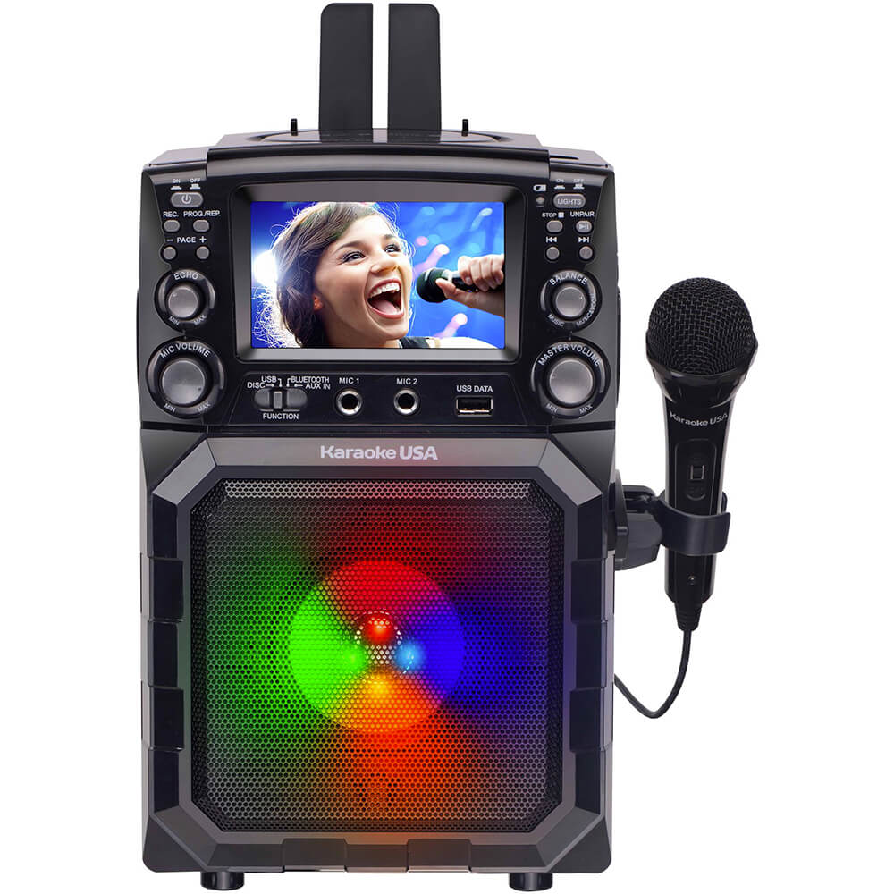Portable CDG/MP3G Karaoke Player