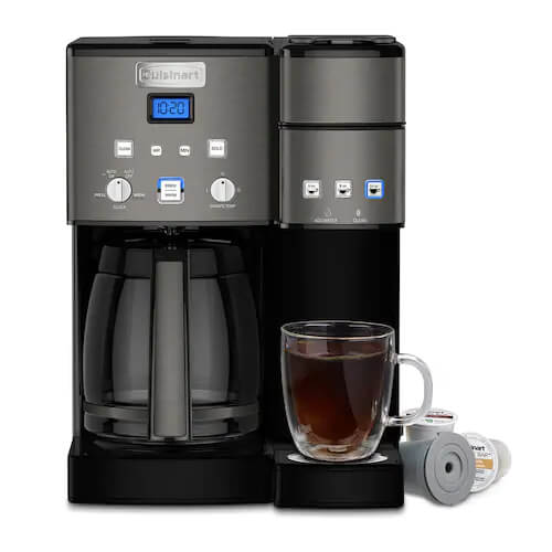 12-Cup Coffeemaker and Single-Serve Brewer - Recertified