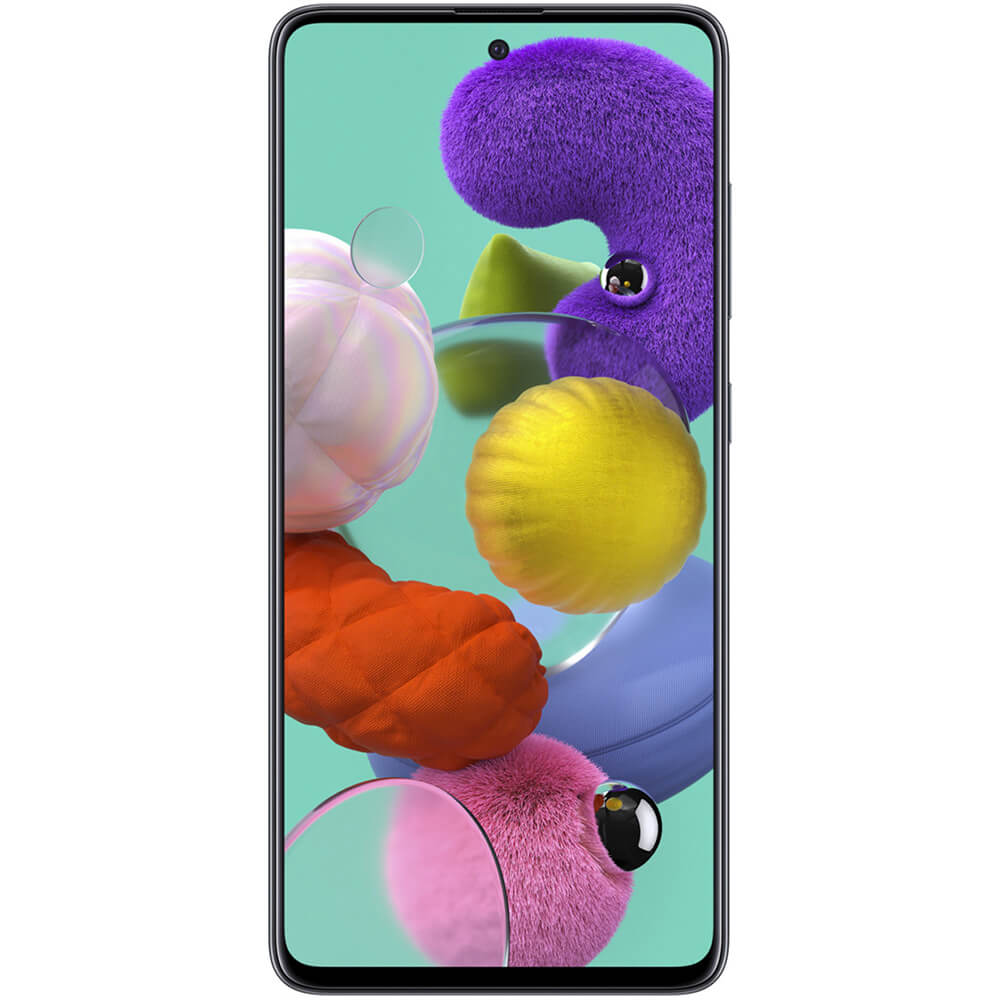 Galaxy A51 A515F Dual-SIM 128GB Smartphone - Black - OPEN BOX