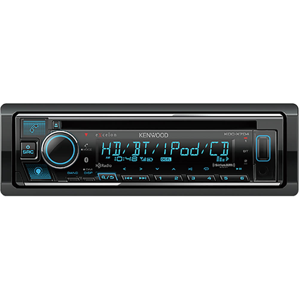 CD Receiver with Bluetooth & HD Radio