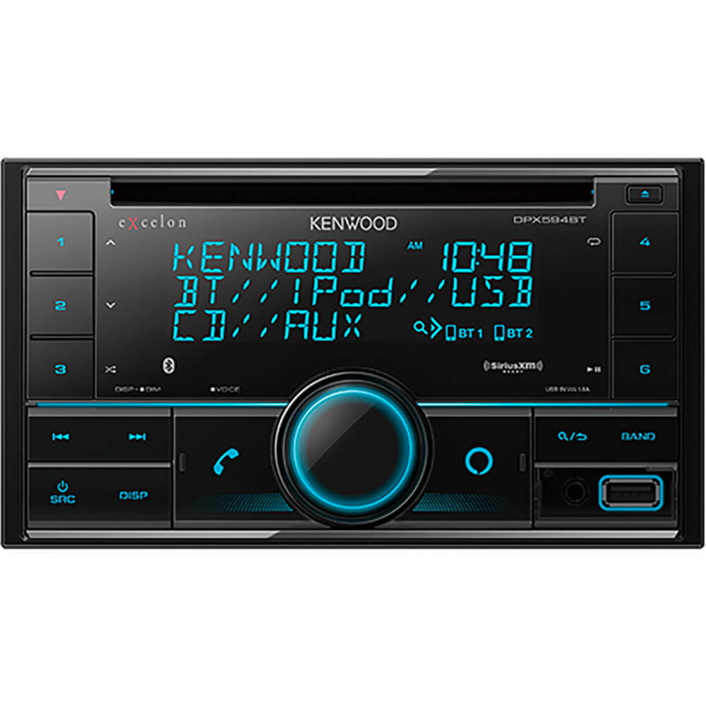 2-Din CD Receiver with Bluetooth