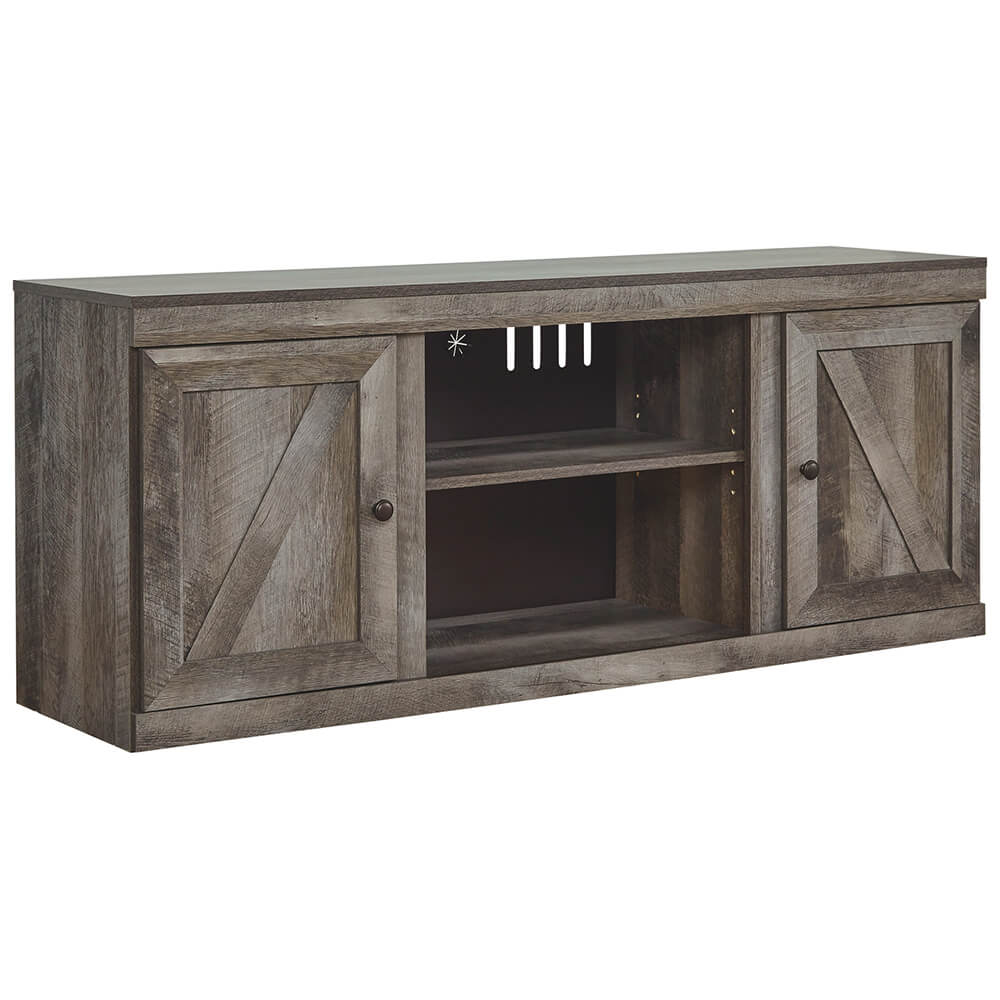 70 inch TV Stand with Fireplace Option
