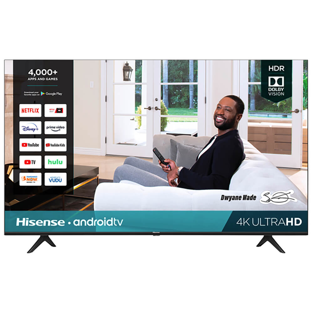 75 inch H65-Series 4K UHD Smart Android TV