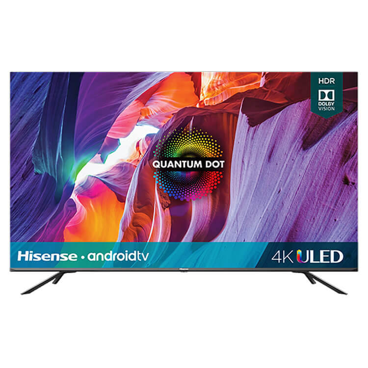 75 inch Class- H8G Quantum 4K ULED Android Smart TV