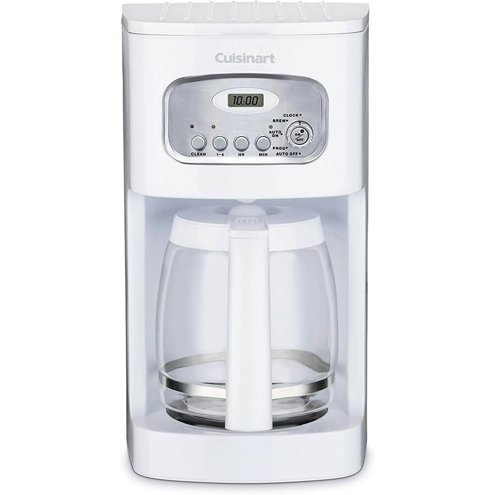 12-Cup Programmable Coffeemaker - White - Recertified