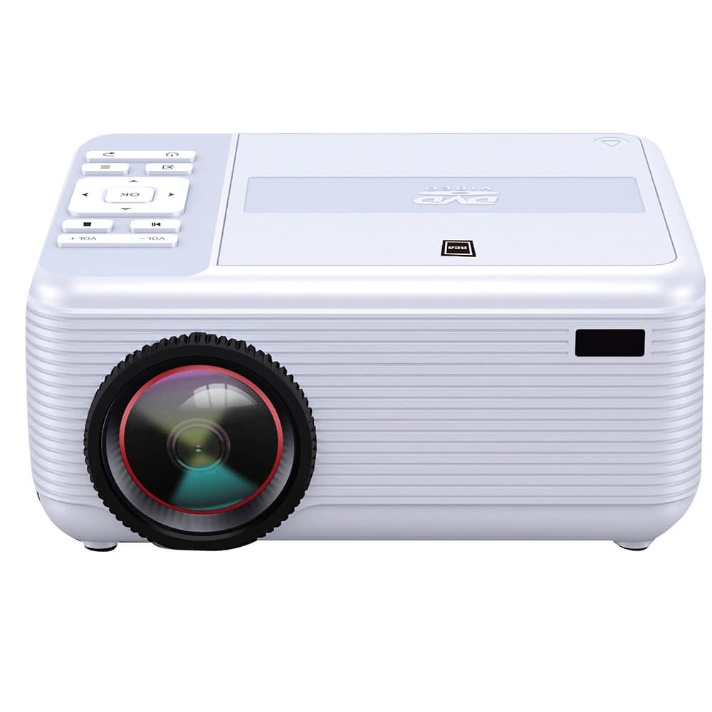 Bluetooth FHD Projector with DVD Player