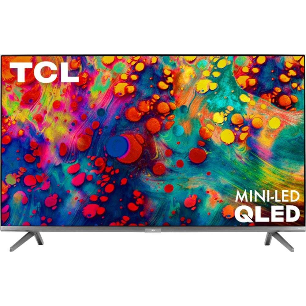 55 inch CLASS 6-SERIES 4K QLED DOLBY VISION HDR SMART ROKU TV