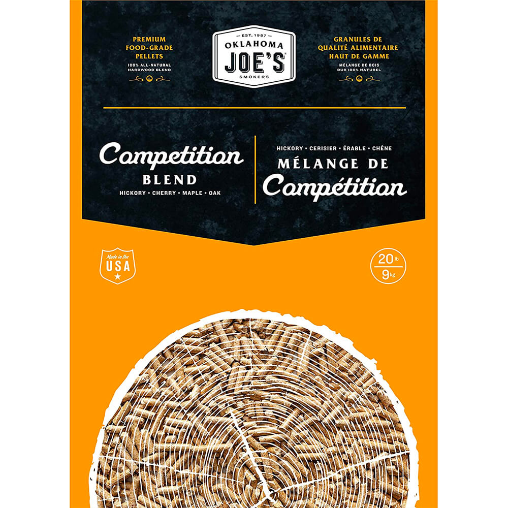 All-Natural Hardwood Competition Blend Wood Pellets - 20lbs.