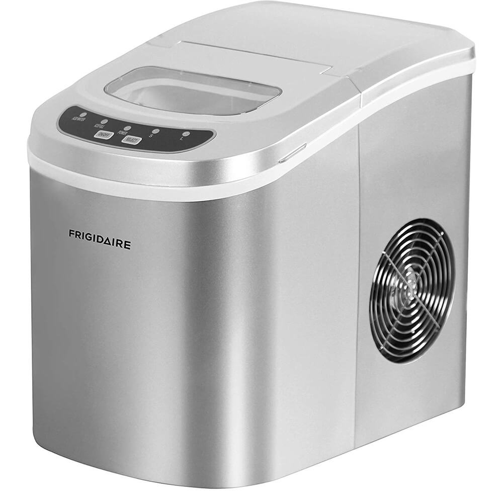 26lb Counter Top Ice Maker - Silver - Recertified