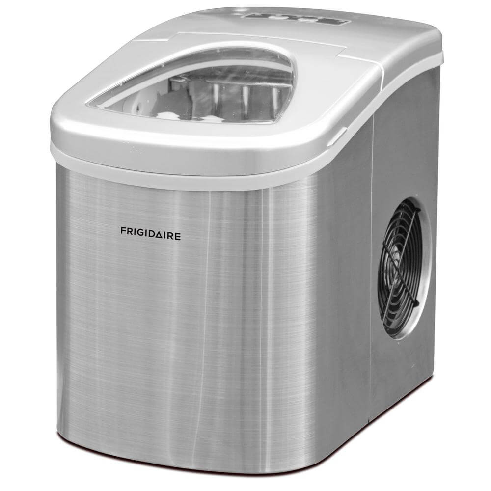 26lb. Portable Countertop Ice Maker - Stainless Steel -Recertified