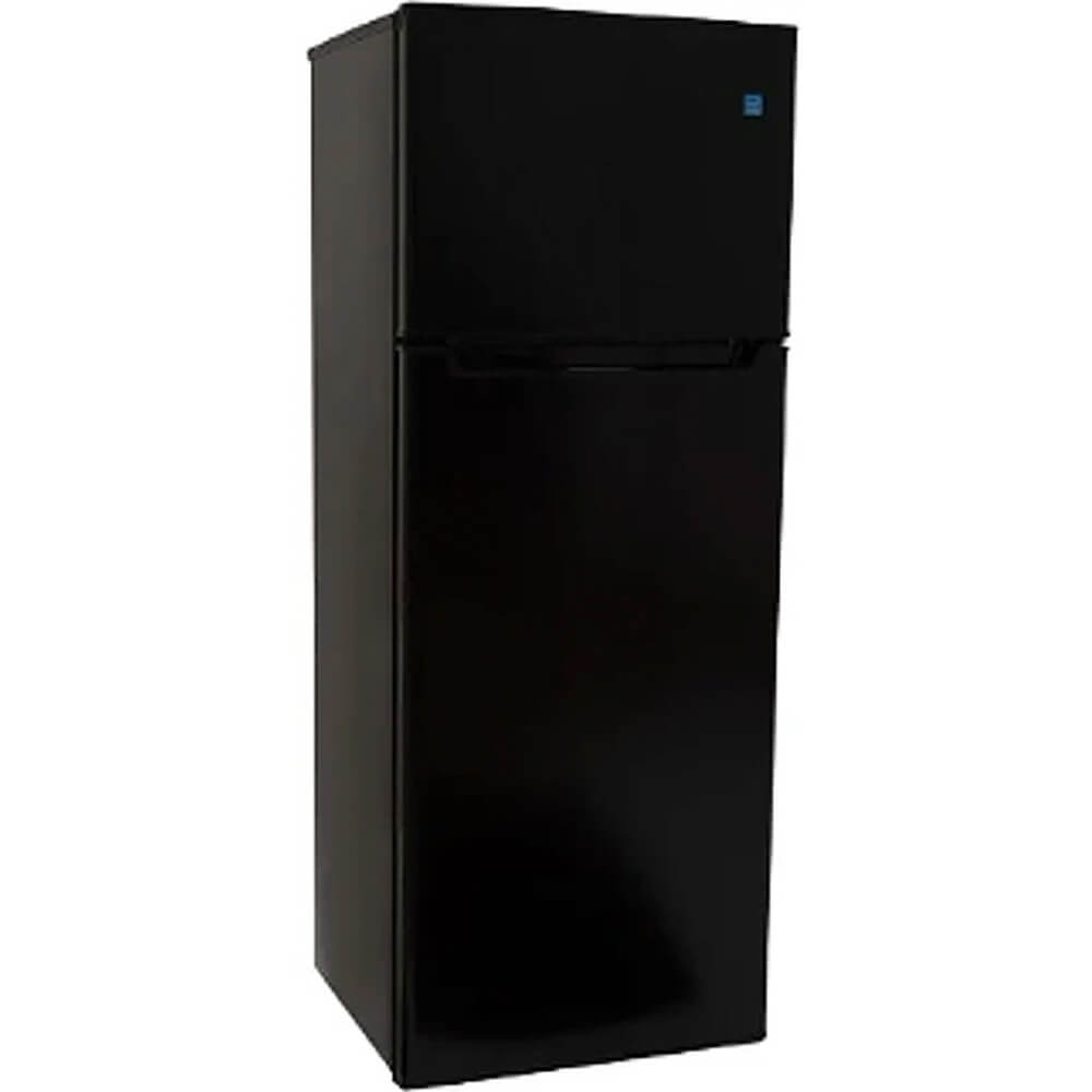 7.3 Cu.Ft. Black Top Freezer Refrigerator