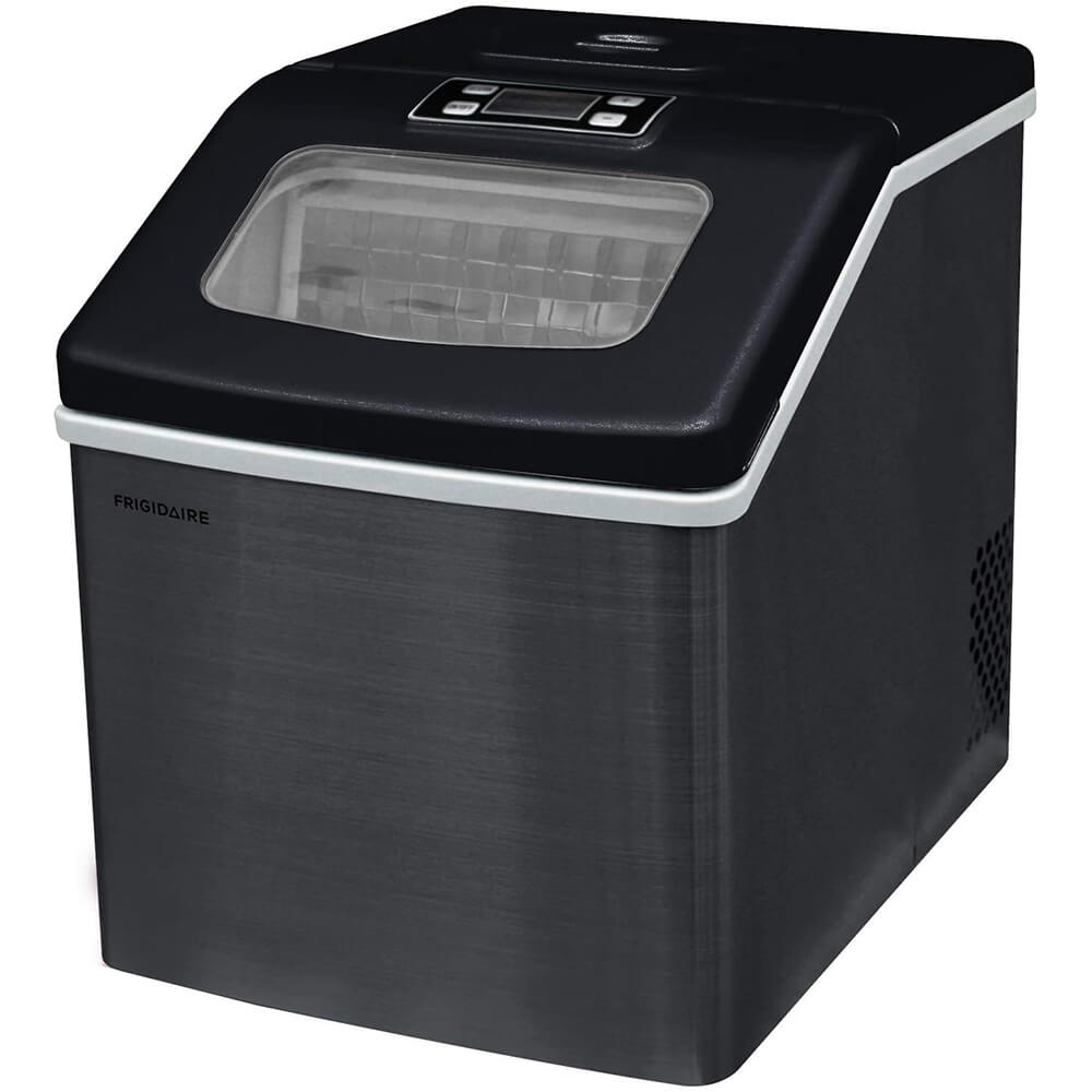 40lb. Extra Large Clear Ice Maker - Black - Recertified