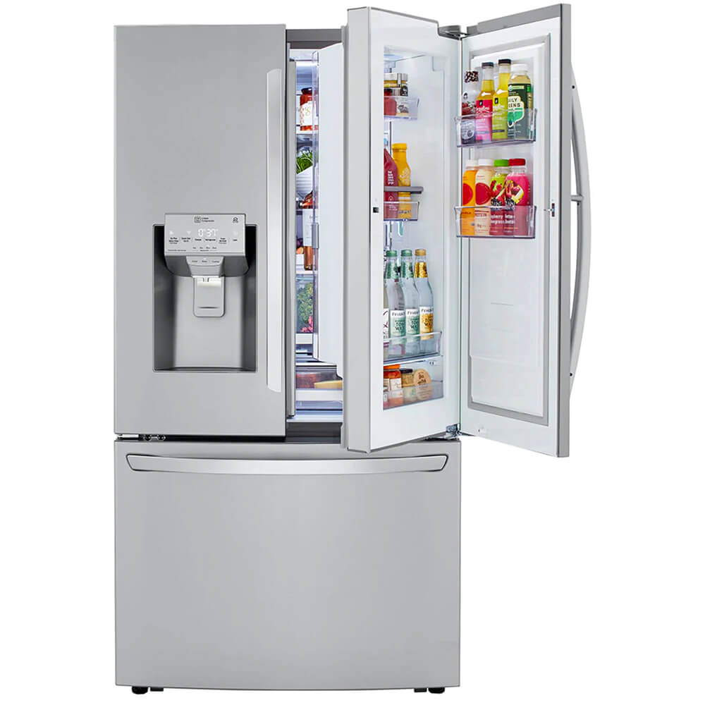 30 Cu.Ft. Stainless French Door Refrigerator