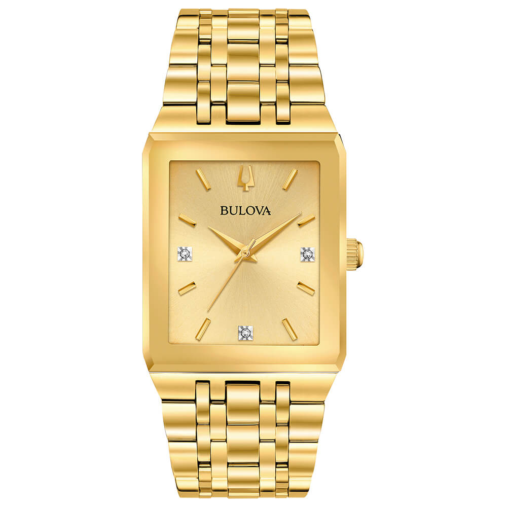 Quadra Gold-Tone Watch