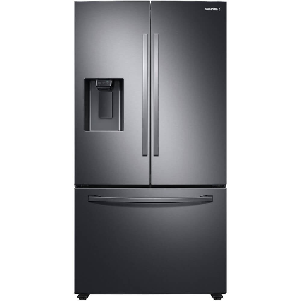 27 Cu.Ft. Black Stainless French Door Refrigerator