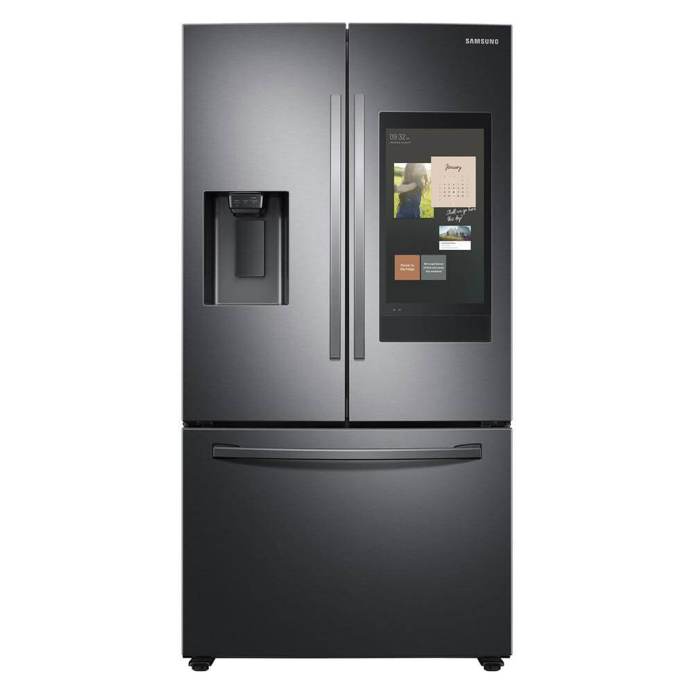 24 Cu.Ft. Black Stainless French Door Refrigerator