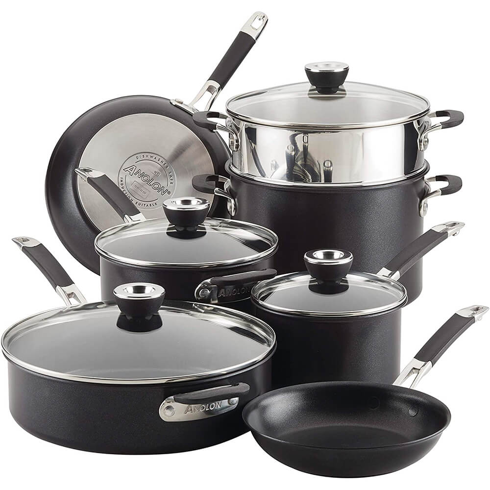 SmartStack 10-Piece Cookware Set