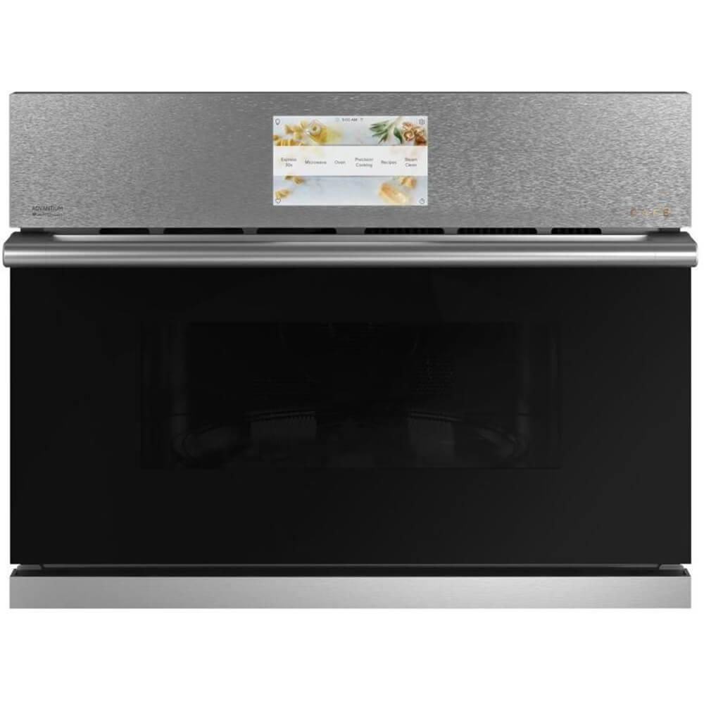 27 inch Platinum Glass Single Smart Wall Oven